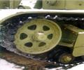 танк Т-28, переднее колесо