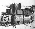 танк Т-28 на старой фотографии