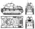 танк Т-28, чертёж танка