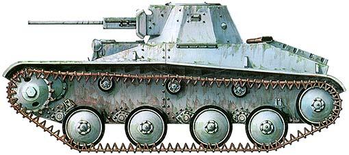 Танк Т-30, зимний вариант