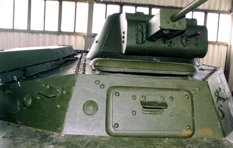 Танк Т-30, башня
