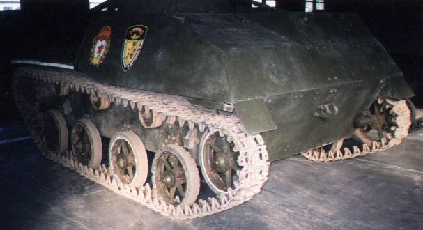 Танк Т-30, ходовая часть