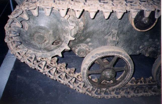 Танк Т-30, ведущее колесо