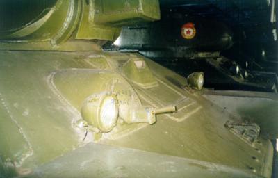 Танк Т-34/76, фара