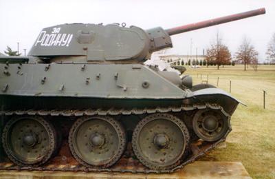 Танк Т-34/76, за родину