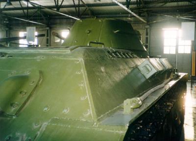 Танк Т-34/76, боковое бронирование