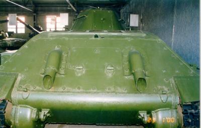 Танк Т-34/76, задний броневой лист