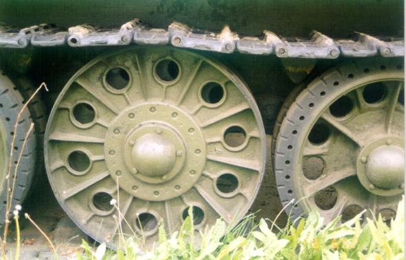 Танк Т-34/76, ходовая часть