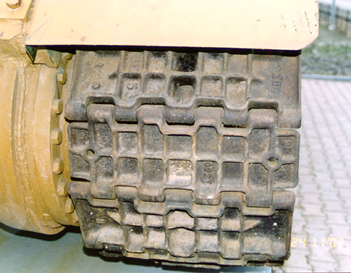 Танк Т-34/76, гусеницы