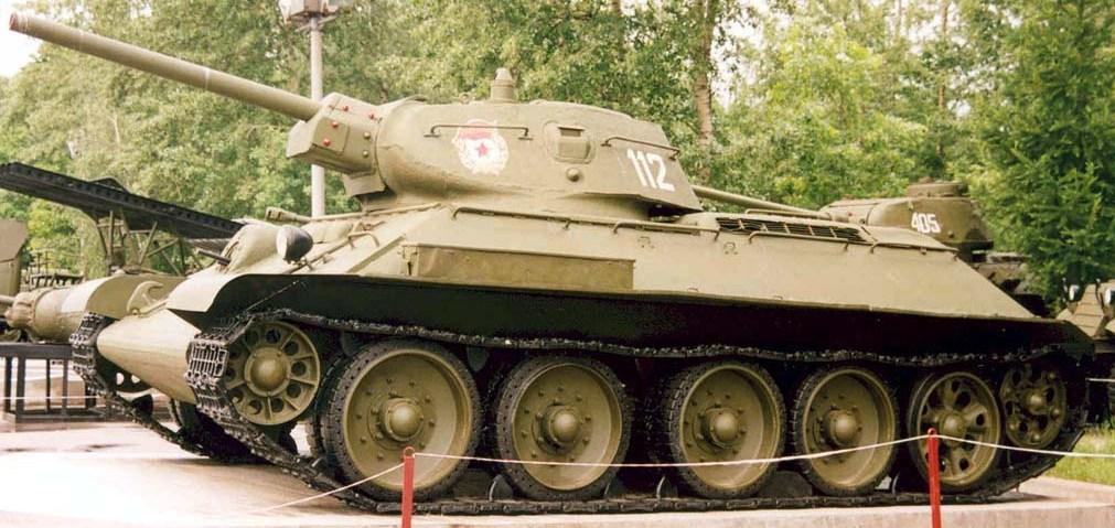 Танк Т-34/76, левый борт