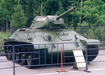 Танк Т-34/76 в музее