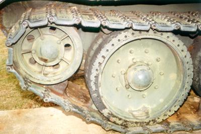 Танк Т-34/76, катки