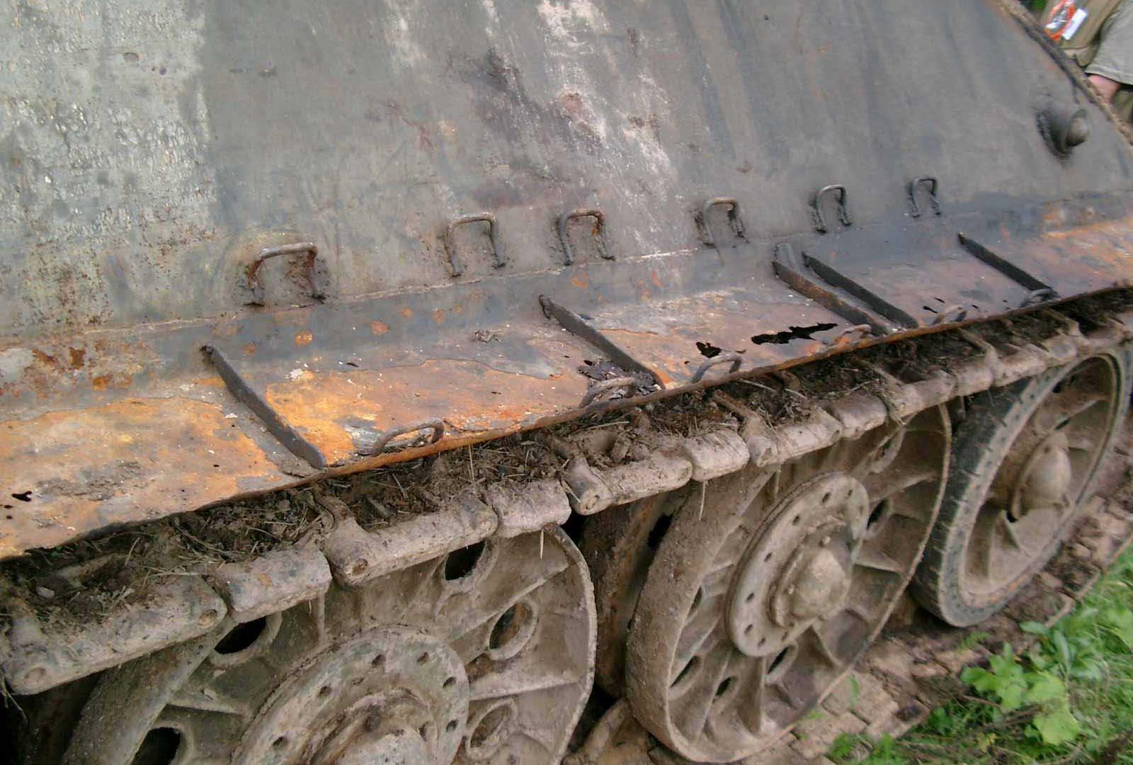 Танк Т-34/76, гусеница