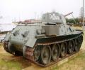 танк Т-34/76, вид сзади справа