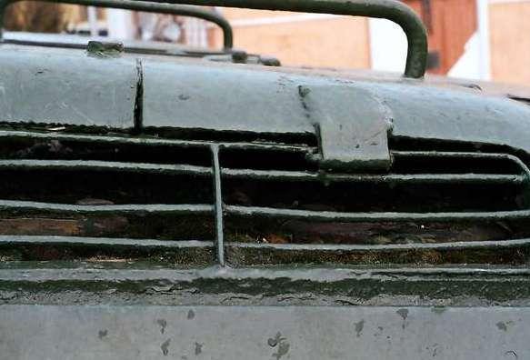 Танк Т-34/85, петли