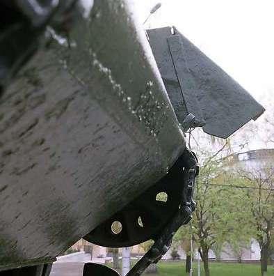 Танк Т-34/85, нижний передний броневой лист