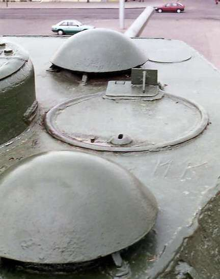 Танк Т-34/85, башня
