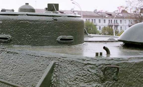 Танк Т-34/85, литая башня