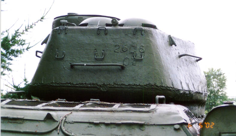 Танк Т-34/85, вид на башню
