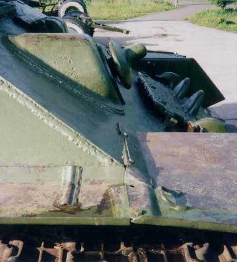 Танк Т-34/85, маска пулемёта