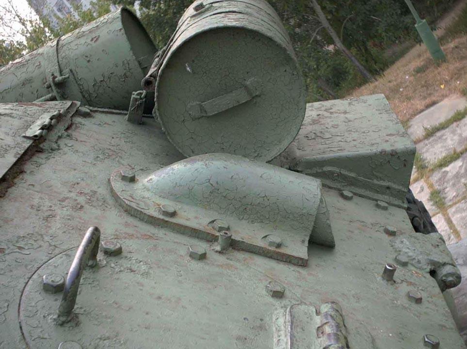 Танк Т-34/85, задний наклонный броневой лист