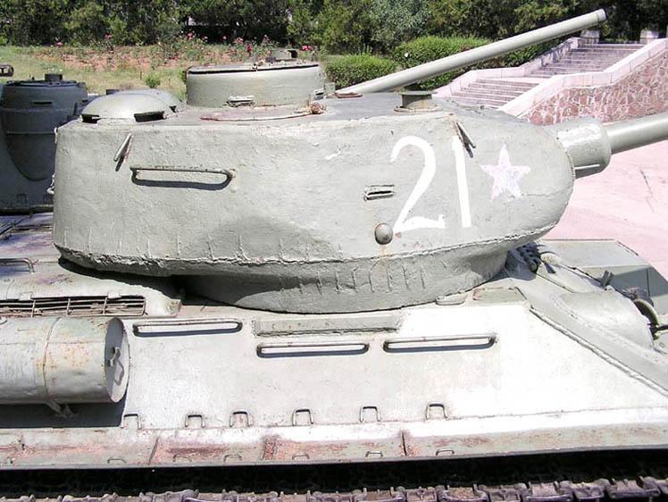 Танк Т-34/85, номер 21