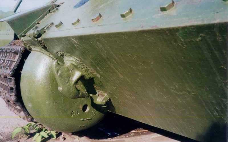 Танк Т-34/85, задний броневой лист