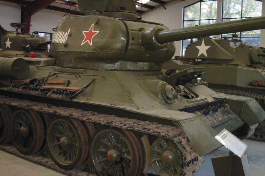 Танк Т-34/85 в музее