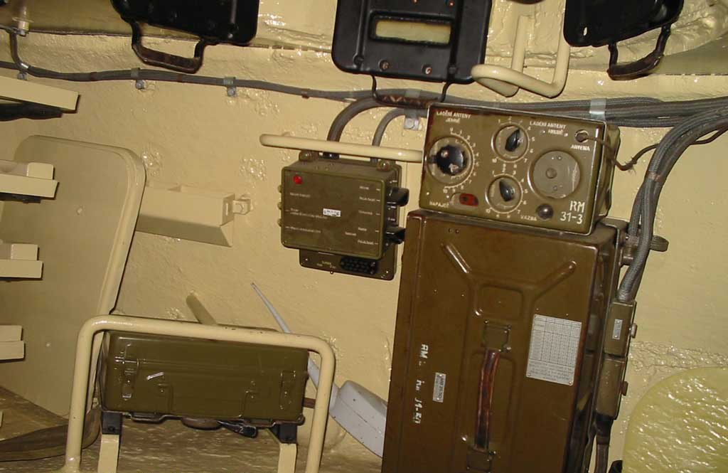 Танк Т-34/85, рация