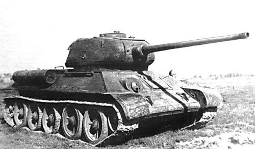 Танк Т-34/85, документальное фото