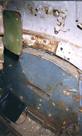 Танк Т-34/85, вид башни изнутри