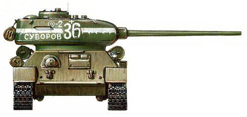 Танк Т-34/85, Суворов