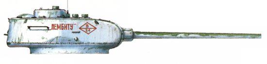 Танк Т-34/85, Лембиту