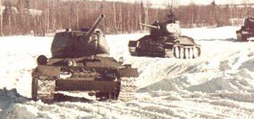 Танк Т-34/85, колонна