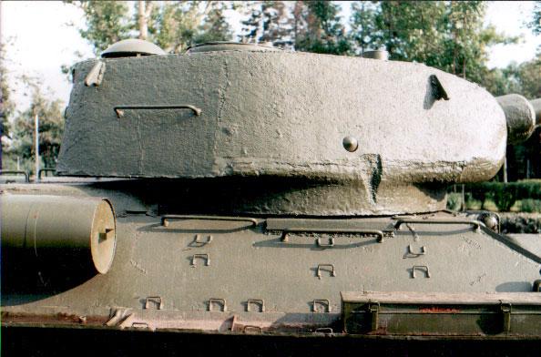 Танк Т-34/85, башня, вид справа