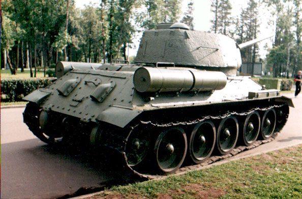 Танк Т-34/85, фотография танка