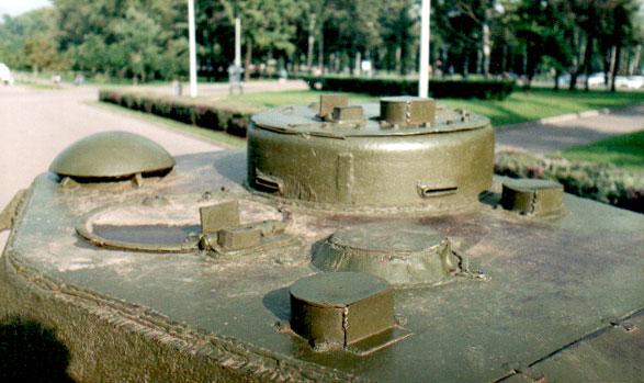 Танк Т-34/85, командирская башенка