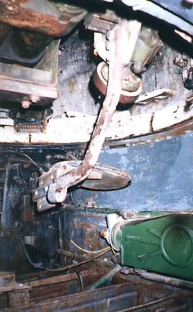 Танк Т-34/85, сиденье наводчика