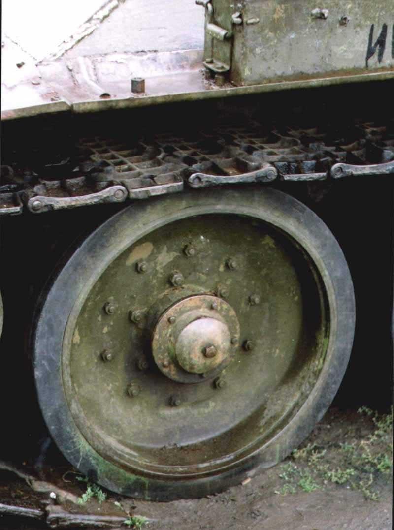 Танк Т-34/85, каток