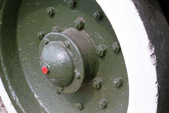 Танк Т-34/85, деталировка колеса