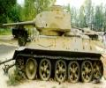 танк Т-34/85 слева