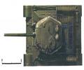 танк Т-34/85, схема окраски, вид сверху