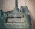 танк Т-34/85, маска пушки, вид сверху