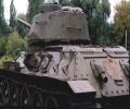 танк Т-34/85, выхлопные трубы