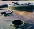 танк Т-34/85, люки башни
