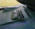 танк Т-34/85, люк водителя