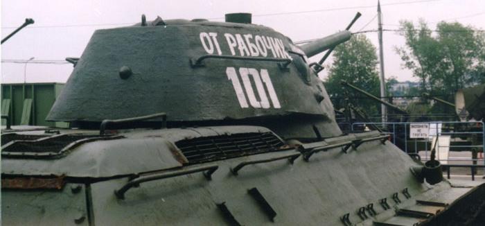 Танк Т-34 решётки системы охлаждения
