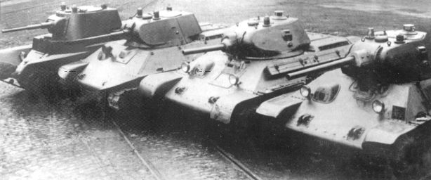 Танк Т-34 старое фото