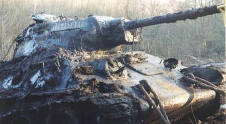 Т-34 из болота