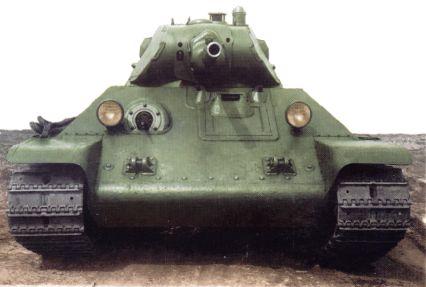 Танк Т-34 вид спереди фото